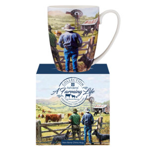 Ashdene Farming Life Kitchen Tea Cup Mug Observing the Herd