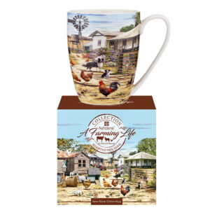 Ashdene Farming Life Kitchen Tea Cup Mug Roaming the Farm