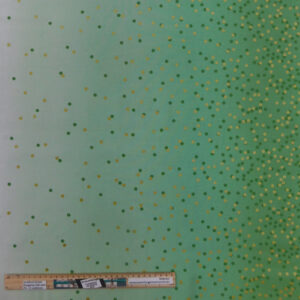 Quilting Patchwork Sewing Fabric Moda Ombre Spots Apple Green 50x55cm FQ