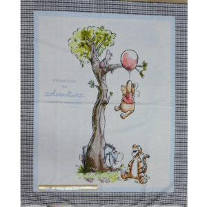 Patchwork Quilting Disney Winnie the Pooh Panel 91x110cm Fabric