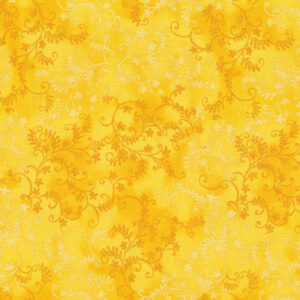 Quilting Patchwork Sewing Fabric Mystic Vine Sunshine 50x55cm FQ