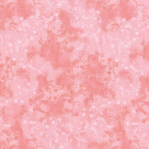 Quilting Patchwork Sewing Fabric Mystic Vine Salmon 50x55cm FQ