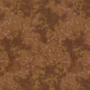 Quilting Patchwork Sewing Fabric Mystic Vine Brown 50x55cm FQ