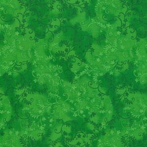 Quilting Patchwork Sewing Fabric Mystic Vine Lime 50x55cm FQ
