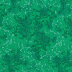 Quilting Patchwork Sewing Fabric Mystic Vine Green 50x55cm FQ