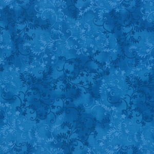 Quilting Patchwork Sewing Fabric Mystic Vine Marine 50x55cm FQ