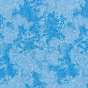 Quilting Patchwork Sewing Fabric Mystic Vine Sky Blue 50x55cm FQ