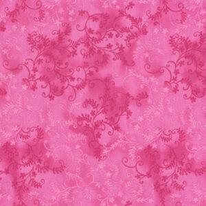 Quilting Patchwork Sewing Fabric Mystic Vine Cerise 50x55cm FQ
