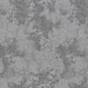 Quilting Patchwork Sewing Fabric Mystic Vine Grey 50x55cm FQ
