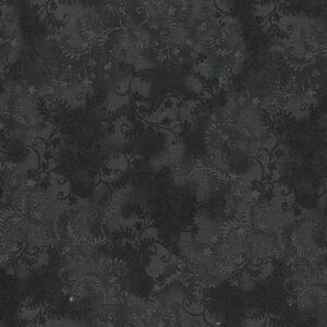 Quilting Patchwork Sewing Fabric Mystic Vine Black 50x55cm FQ