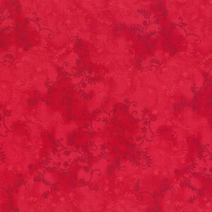 Quilting Patchwork Sewing Fabric Mystic Vine Red 50x55cm FQ