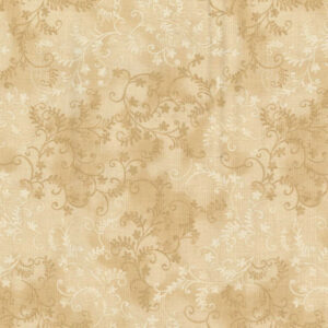 Quilting Patchwork Sewing Fabric Mystic Vine Sand 50x55cm FQ