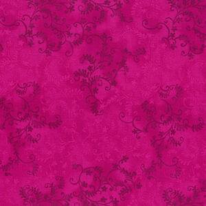 Quilting Patchwork Sewing Fabric Mystic Vine Fuchsia 50x55cm FQ
