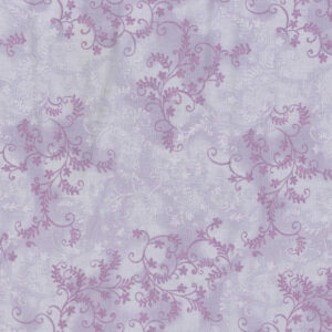 Quilting Patchwork Sewing Fabric Mystic Vine Lilac 50x55cm FQ