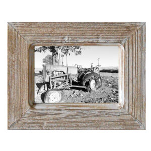 French Country Rustic Wooden 5x7 Inch Single Photo Frame