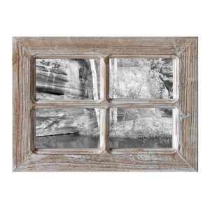 French Country Rustic Wooden 6x4 Inch Four Photo Frame