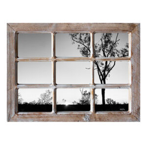 French Country Rustic Wooden 6x4 Inch Nine Photo Frame