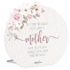 French Country Wooden Sign Mothers Day Mother World Plaque