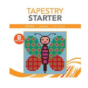 Create Handmade Tapestry Kit Kids Beginner Butterfly Inc Threads