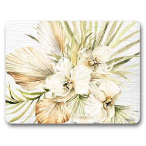 Kitchen Cork Backed Placemats AND Coasters Palomino Orchid Set 6