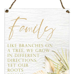 Country Metal Tin Sign Wall Art Palomino Family Plaque