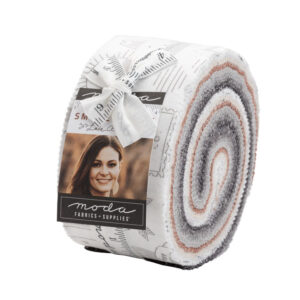 Moda Quilting Jelly Roll Patchwork Smoke and Rust 2.5 Inch Sewing Fabrics