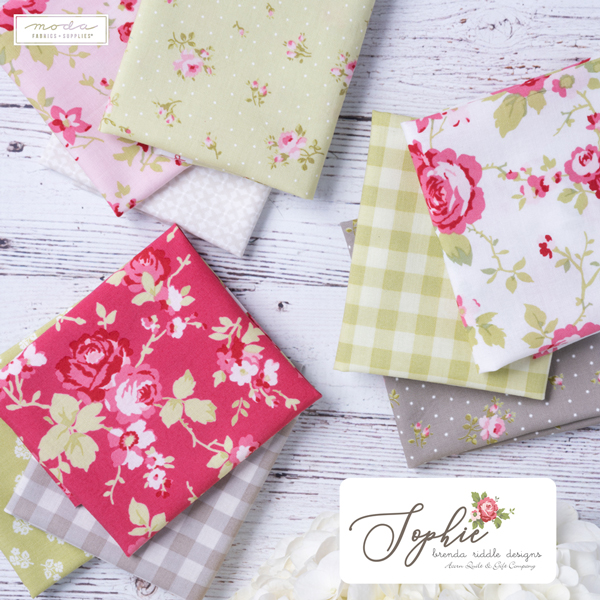 Moda Quilting Charm Pack Patchwork Sophie 5 Inch Sewing Fabrics