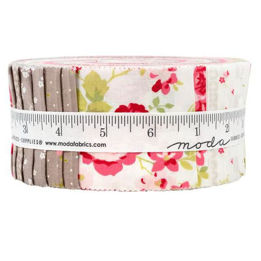 Moda Quilting Jelly Roll Patchwork Sophie 2.5 Inch Sewing Fabrics