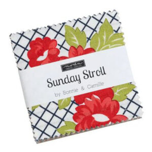 Moda Quilting Charm Pack Patchwork Sunday Stroll 5 Inch Sewing Fabrics