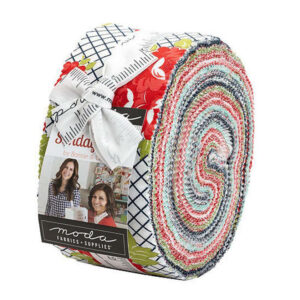 Moda Quilting Jelly Roll Patchwork Sunday Stroll 2.5 Inch Sewing Fabrics