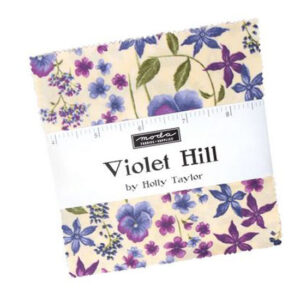 Moda Quilting Charm Pack Patchwork Violet Hill 5 Inch Sewing Fabrics
