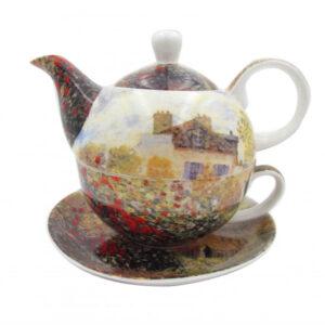 Elegant Kitchen Teapot Claude Monet Artists House Tea for One Giftboxed