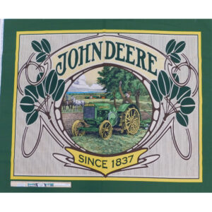 Patchwork Quilting Sewing John Deere Tractor Panel 92x110cm