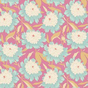 Quilting Patchwork Fabric TILDA Gardenlife Peony Pink 50x55cm FQ