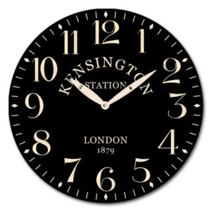 Clock Wall Hanging French Country Kensington Station Clocks 29cm