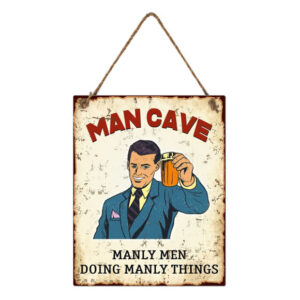 Country Metal Tin Sign Wall Art Man Cave Manly Things