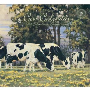 Legacy 2022 Calendar Cow Calender Fits Lang Wall Frame