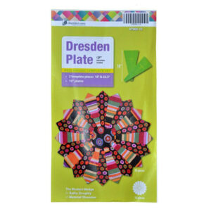 """Quilting Patchwork Sewing Template Dresden Plate 10"""" Matilda's Own"""