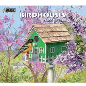 Lang 2022 Calendar Birdhouses Calender Fits Wall Frame