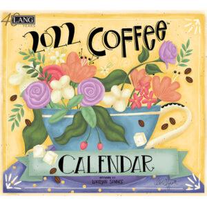 Lang 2022 Calendar Coffee Calender Fits Wall Frame