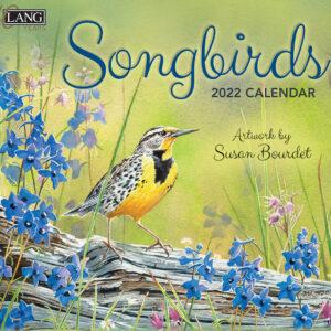 Lang 2022 Calendar Songbirds Calender Fits Wall Frame