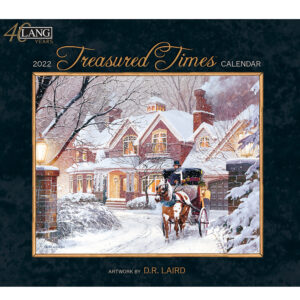 Lang 2022 Calendar Treasured Times Calender Fits Wall Frame
