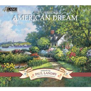 Lang 2022 Calendar American Dream Calender Fits Wall Frame