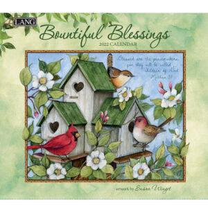 Lang 2022 Calendar Bountiful Blessings Calender Fits Wall Frame