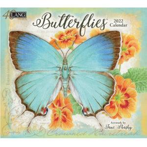 Lang 2022 Calendar Butterflies Calender Fits Wall Frame
