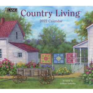 Lang 2022 Country Living Calender Fits Wall Frame