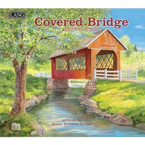 Lang 2022 Calendar Covered Bridge Calender Fits Wall Frame