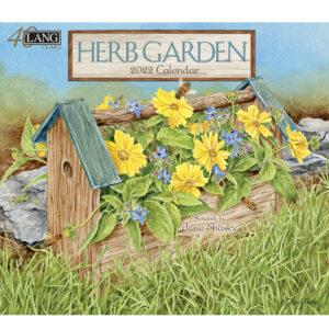 Lang 2022 Calendar Herb Garden Calender Fits Wall Frame