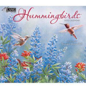 Lang 2022 Calendar Hummingbirds Calender Fits Wall Frame