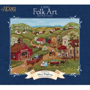 Lang 2022 Calendar Folk Art Calender Fits Wall Frame